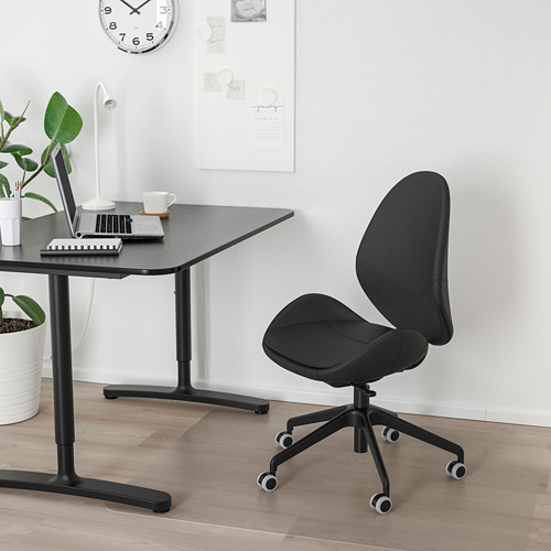 HATTEFJÄLL - 辦公椅, Smidig 黑色   IKEA 香港及澳門 - PE750331_S4