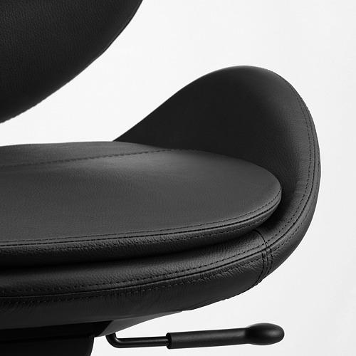 HATTEFJÄLL - 辦公椅, Smidig 黑色   IKEA 香港及澳門 - PE750339_S4