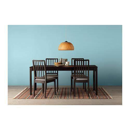 EKEDALEN - chair, dark brown/Orrsta light grey | IKEA Hong Kong and Macau - PH143363_S4