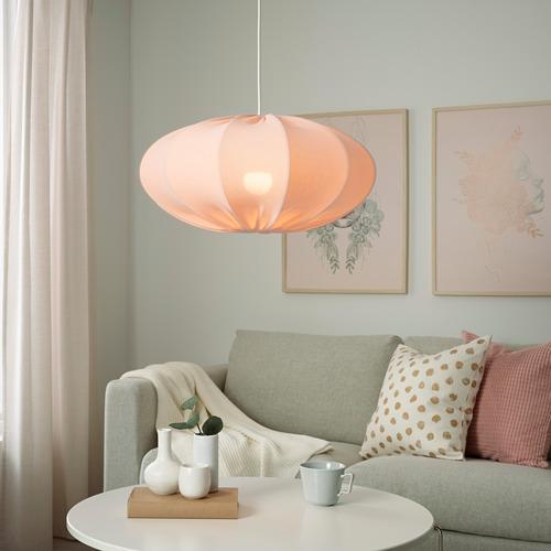 REGNSKUR - 吊燈燈罩, 橢圓形 粉紅色   IKEA 香港及澳門 - PE780930_S4