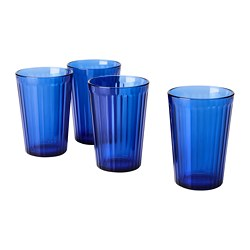 VARDAGEN - 水杯, 藍色   IKEA 香港及澳門 - PE781016_S3