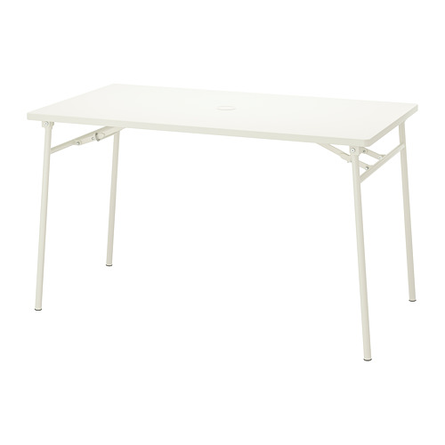 TORPARÖ - table, outdoor, 130x74cm, white/foldable | IKEA Hong Kong and Macau - PE806070_S4