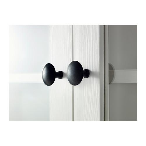 HEMNES - 貯物組合連門/抽屜, 染白色/透明玻璃   IKEA 香港及澳門 - PE404063_S4