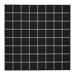 SVALLERUP - 室內/戶外用平織地氈, 黑色/白色 | IKEA 香港及澳門 - PE710863_S3