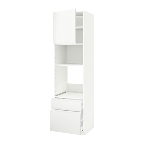 METOD/MAXIMERA - 高櫃組合, 白色/Voxtorp 啞白色 | IKEA 香港及澳門 - PE543833_S4