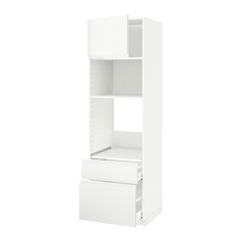 METOD/MAXIMERA - high cab f oven/micro w dr/2 drwrs, white/Voxtorp matt white | IKEA Hong Kong and Macau - PE543891_S4