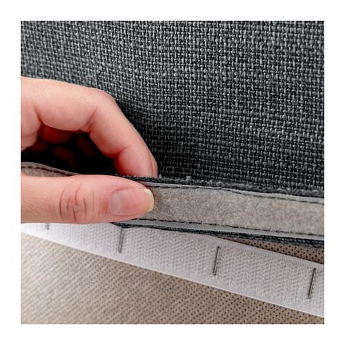 VALLENTUNA - back rest, Hillared dark grey | IKEA Hong Kong and Macau - PE606421_S4