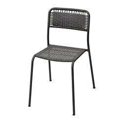 VIHOLMEN - 戶外椅子, 深灰色 | IKEA 香港及澳門 - PE806284_S3