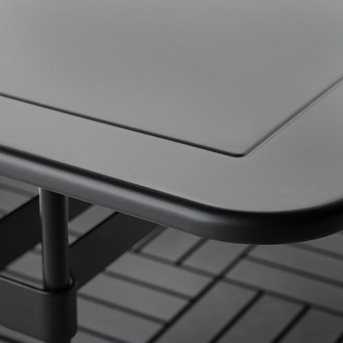 VIHOLMEN/VIHOLMEN - table+4 chairs, outdoor, dark grey/dark grey | IKEA Hong Kong and Macau - PE806287_S4