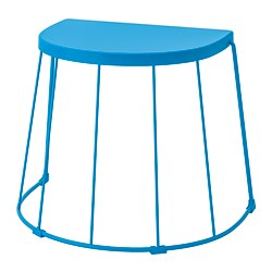 TRANARÖ - 腳凳/角几,室內/戶外用, 藍色   IKEA 香港及澳門 - PE806322_S3