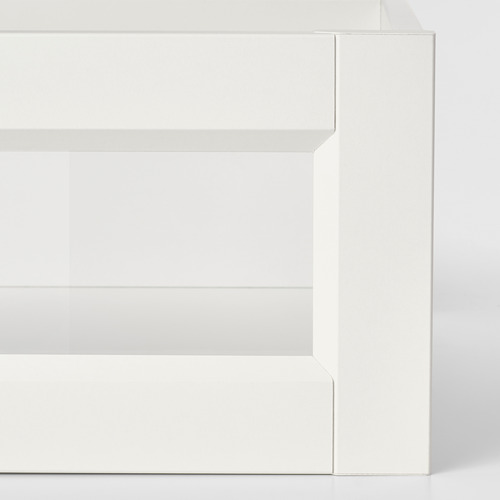 KOMPLEMENT - drawer with framed glass front, white   IKEA Hong Kong and Macau - PE750610_S4
