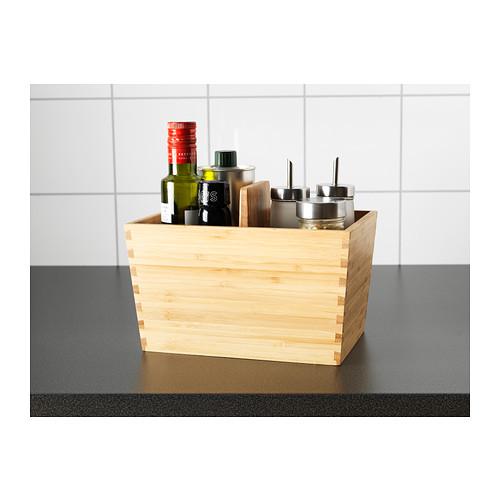 VARIERA - box with handle, bamboo | IKEA Hong Kong and Macau - PE403774_S4