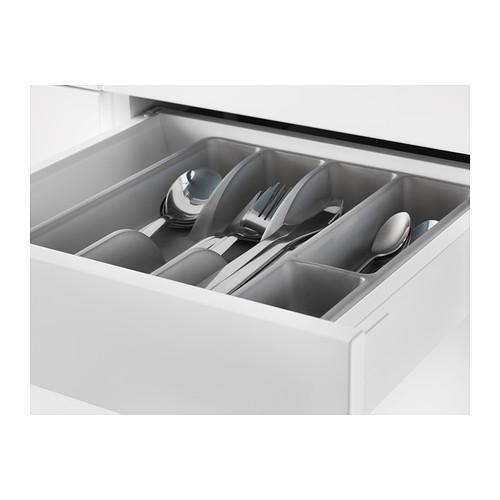 SMÄCKER - cutlery tray, grey | IKEA Hong Kong and Macau - PE404014_S4