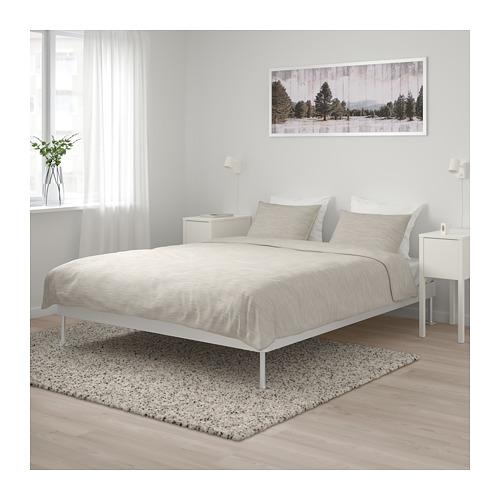 DELAKTIG bed frame, queen