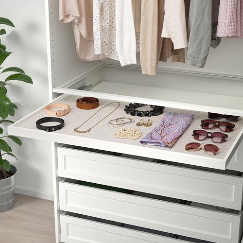 KOMPLEMENT - drawer mat, light grey patterned | IKEA Hong Kong and Macau - PE750677_S4