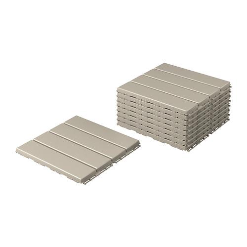 RUNNEN - 戶外地板, 米黃色   IKEA 香港及澳門 - PE806626_S4