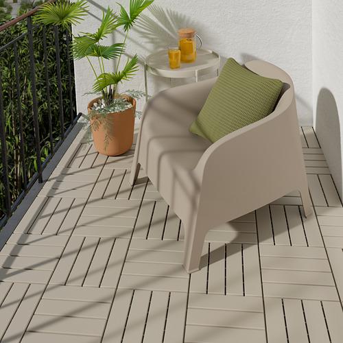 RUNNEN - 戶外地板, 米黃色   IKEA 香港及澳門 - PE806629_S4
