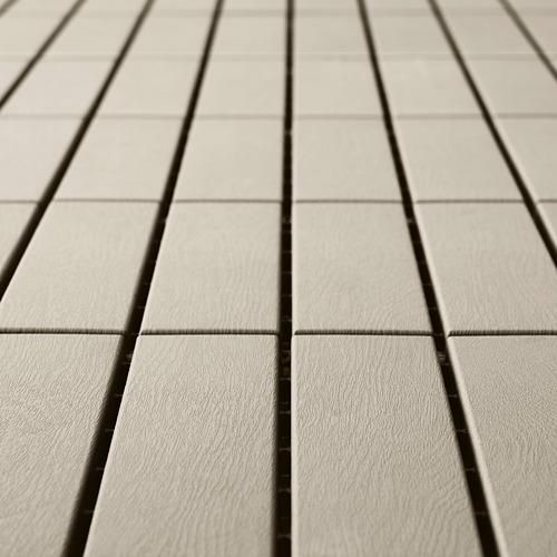 RUNNEN - 戶外地板, 米黃色   IKEA 香港及澳門 - PE806628_S4