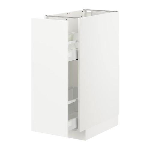 METOD - 地櫃/拉出式櫃內配件, 白色/Veddinge 白色 | IKEA 香港及澳門 - PE711074_S4