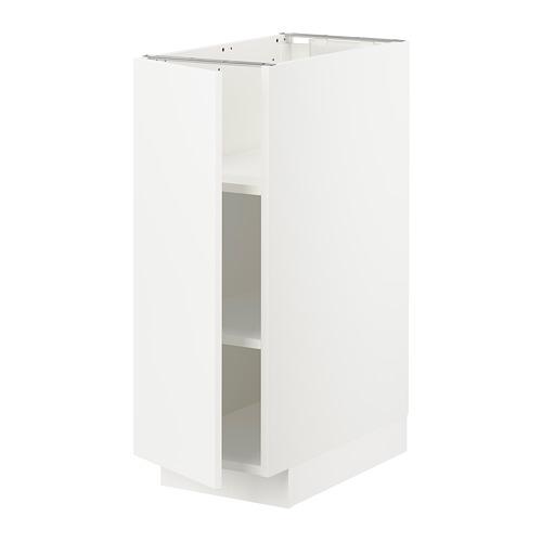 METOD - 地櫃連層板, 白色/Veddinge 白色 | IKEA 香港及澳門 - PE711076_S4