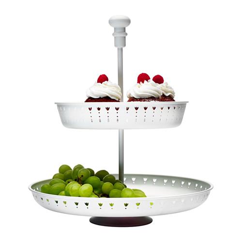 GARNERA - serving stand, two tiers, white | IKEA Hong Kong and Macau - PE407545_S4