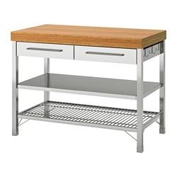 RIMFORSA - work bench, stainless steel/bamboo | IKEA Hong Kong and Macau - PE711112_S3