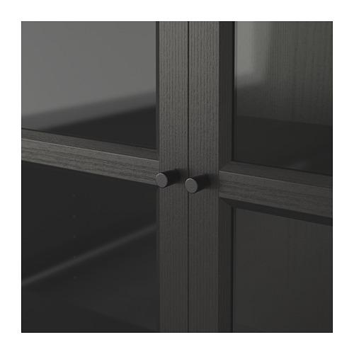 BILLY/OXBERG 玻璃門書櫃組合