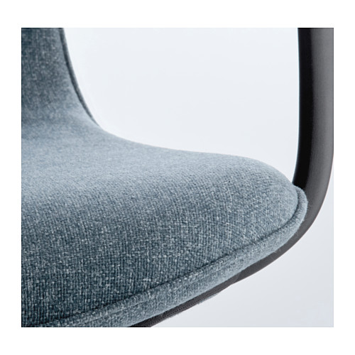 LÅNGFJÄLL - conference chair with armrests, Gunnared blue/black | IKEA Hong Kong and Macau - PE607073_S4