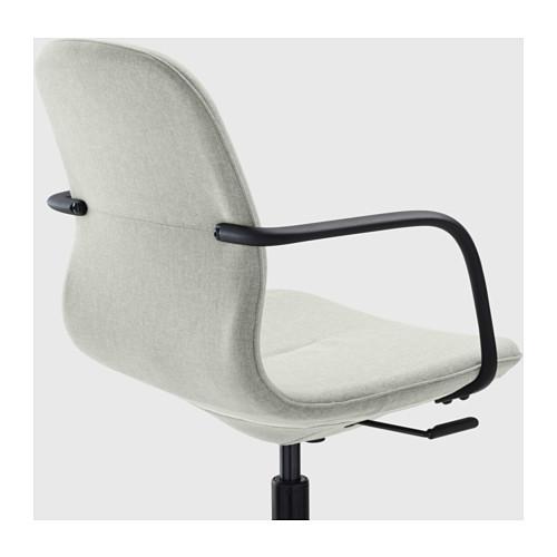 LÅNGFJÄLL 旋轉椅, gunnared 淺綠色/黑色