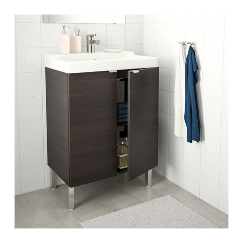 LILLÅNGEN/TÄLLEVIKEN washbasin cabinet with 2 doors