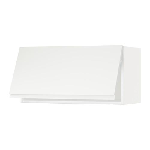 METOD - wall cabinet horizontal, white/Voxtorp matt white | IKEA Hong Kong and Macau - PE544595_S4