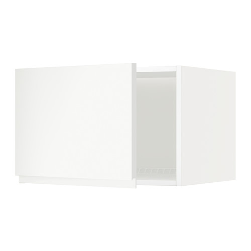 METOD - top cabinet for fridge/freezer, white/Voxtorp matt white | IKEA Hong Kong and Macau - PE544596_S4