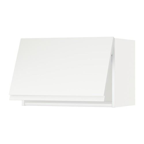 METOD - wall cabinet horizontal w push-open, white/Voxtorp matt white | IKEA Hong Kong and Macau - PE544633_S4