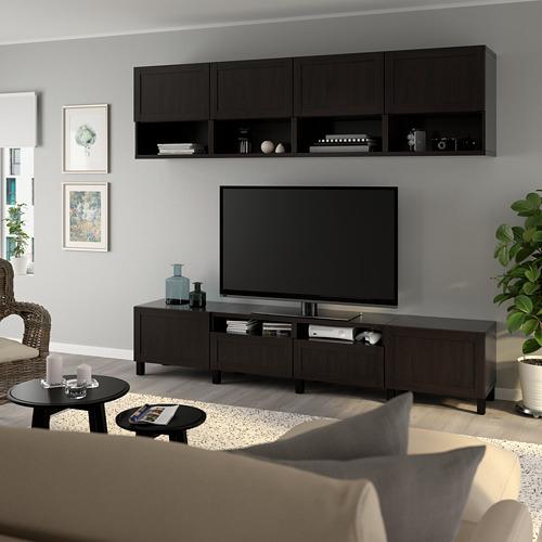 BESTÅ - 電視貯物組合, black-brown/Hanviken/Stubbarp black-brown | IKEA 香港及澳門 - PE751097_S4