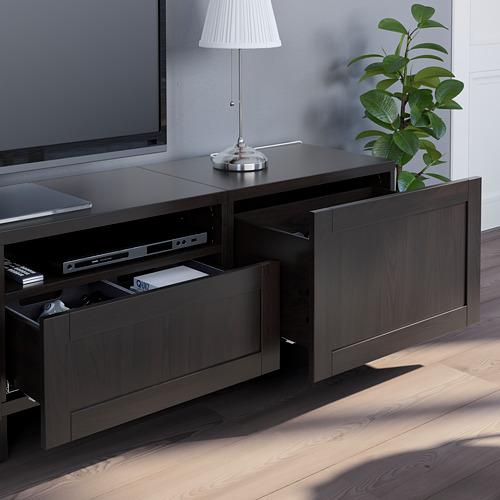 BESTÅ - 電視貯物組合, black-brown/Hanviken/Stubbarp black-brown | IKEA 香港及澳門 - PE751117_S4