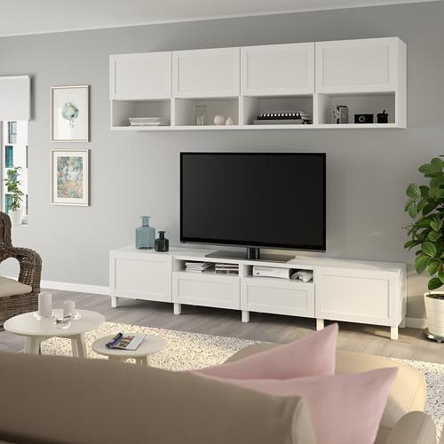 BESTÅ - 電視貯物組合, white/Hanviken/Stubbarp white | IKEA 香港及澳門 - PE751108_S4