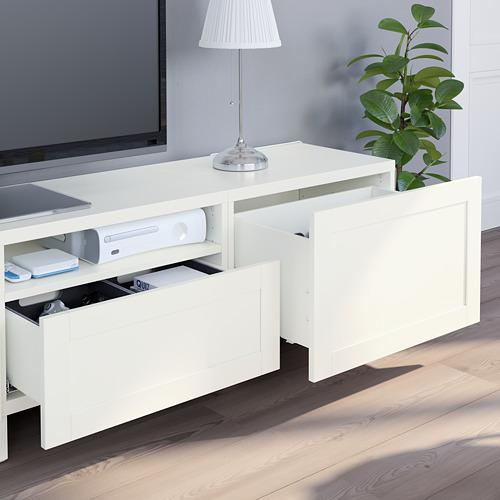 BESTÅ - 電視貯物組合, white/Hanviken/Stubbarp white | IKEA 香港及澳門 - PE751101_S4
