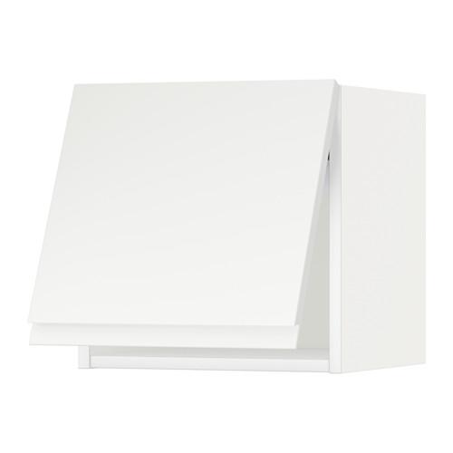 METOD - wall cabinet horizontal w push-open, white/Voxtorp matt white   IKEA 香港及澳門 - PE544672_S4