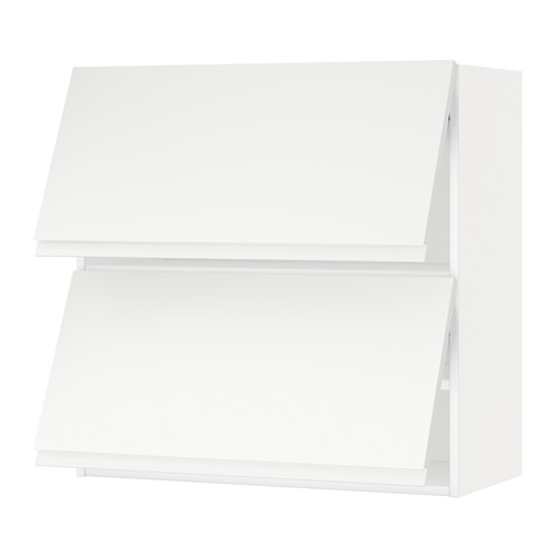 METOD - wall cabinet horizontal w 2 doors, white/Voxtorp matt white | IKEA Hong Kong and Macau - PE544690_S4