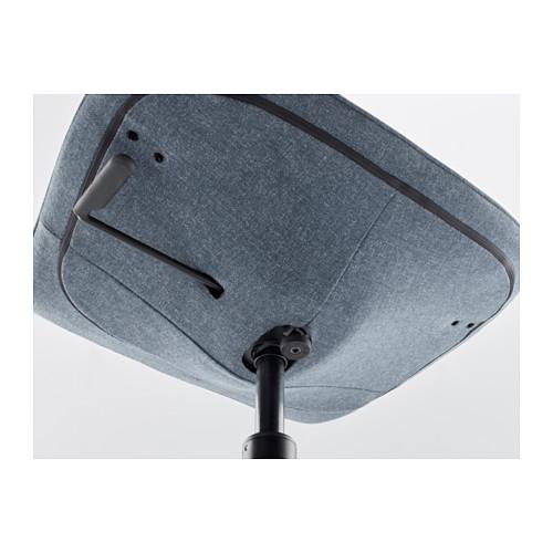 LÅNGFJÄLL - office chair, Gunnared blue/black | IKEA Hong Kong and Macau - PE607373_S4