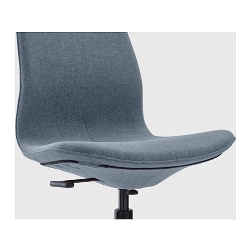 LÅNGFJÄLL - office chair, Gunnared blue/black | IKEA Hong Kong and Macau - PE607374_S4