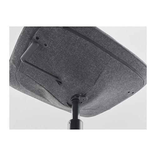 LÅNGFJÄLL - office chair, Gunnared dark grey/black | IKEA Hong Kong and Macau - PE607377_S4