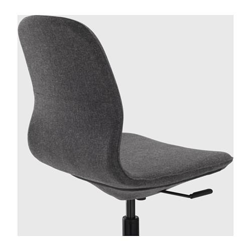 LÅNGFJÄLL - office chair, Gunnared dark grey/black | IKEA Hong Kong and Macau - PE607379_S4