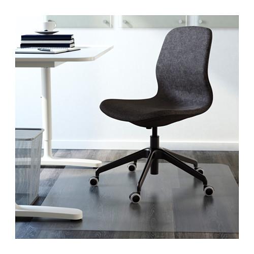 LÅNGFJÄLL - office chair, Gunnared dark grey/black | IKEA Hong Kong and Macau - PE607376_S4
