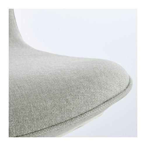 LÅNGFJÄLL - 辦公椅, Gunnared 淺綠色/黑色 | IKEA 香港及澳門 - PE607389_S4