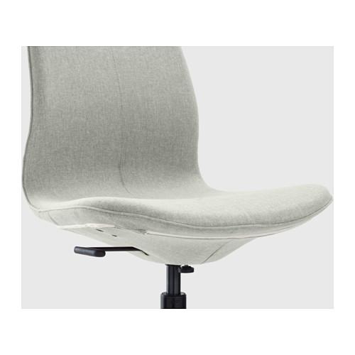 LÅNGFJÄLL - 辦公椅, Gunnared 淺綠色/黑色 | IKEA 香港及澳門 - PE607392_S4