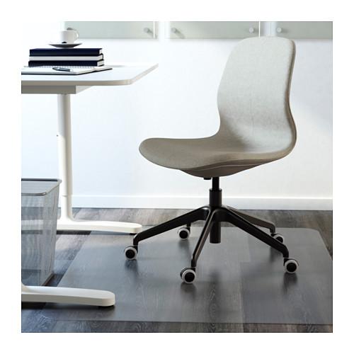 LÅNGFJÄLL - 辦公椅, Gunnared 淺綠色/黑色 | IKEA 香港及澳門 - PE607388_S4