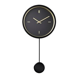 STURSK - 掛牆鐘, 黑色 | IKEA 香港及澳門 - PE711350_S3