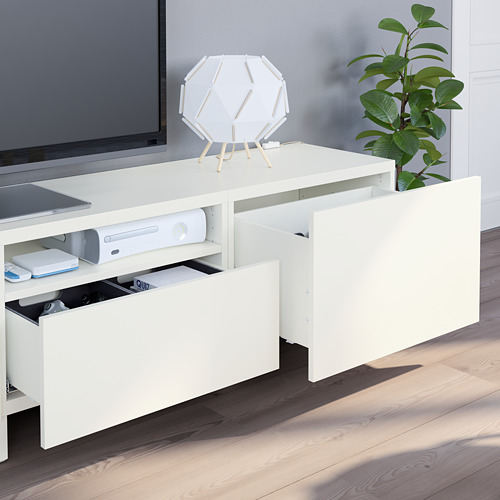 BESTÅ - 電視貯物組合, white/Lappviken/Stubbarp white   IKEA 香港及澳門 - PE751102_S4