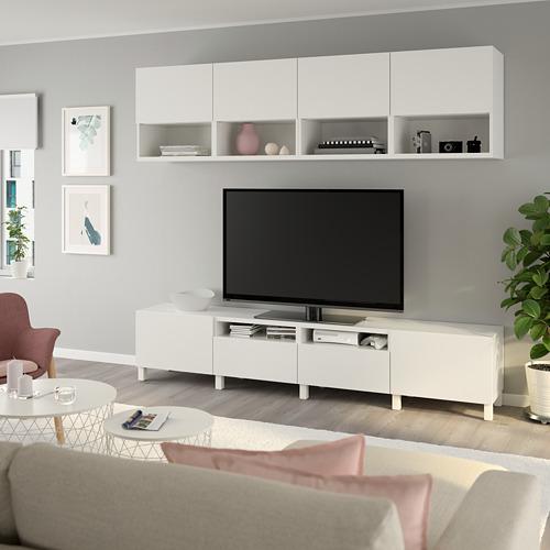 BESTÅ - 電視貯物組合, white/Lappviken/Stubbarp white   IKEA 香港及澳門 - PE751111_S4